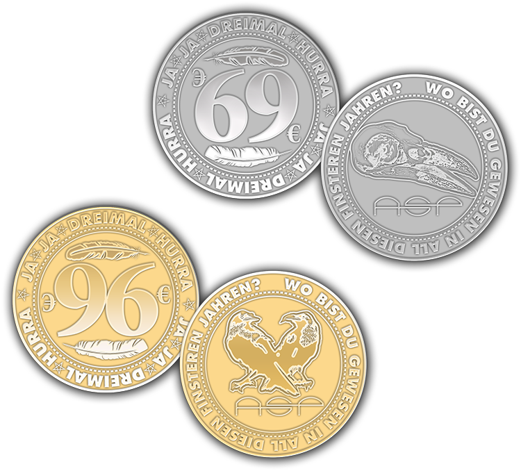 Asps Welten Asps News Journal Münzen