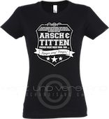"Produktabbildung ""A&T - Finger weg!"" Girlie-Shirt"